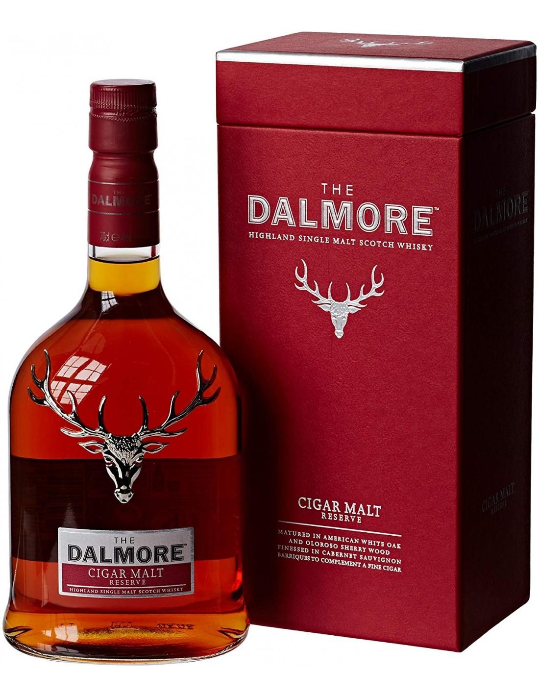 Whisky Dalmore Cigar Single Malt, 44% alc., 1L, Scotia
