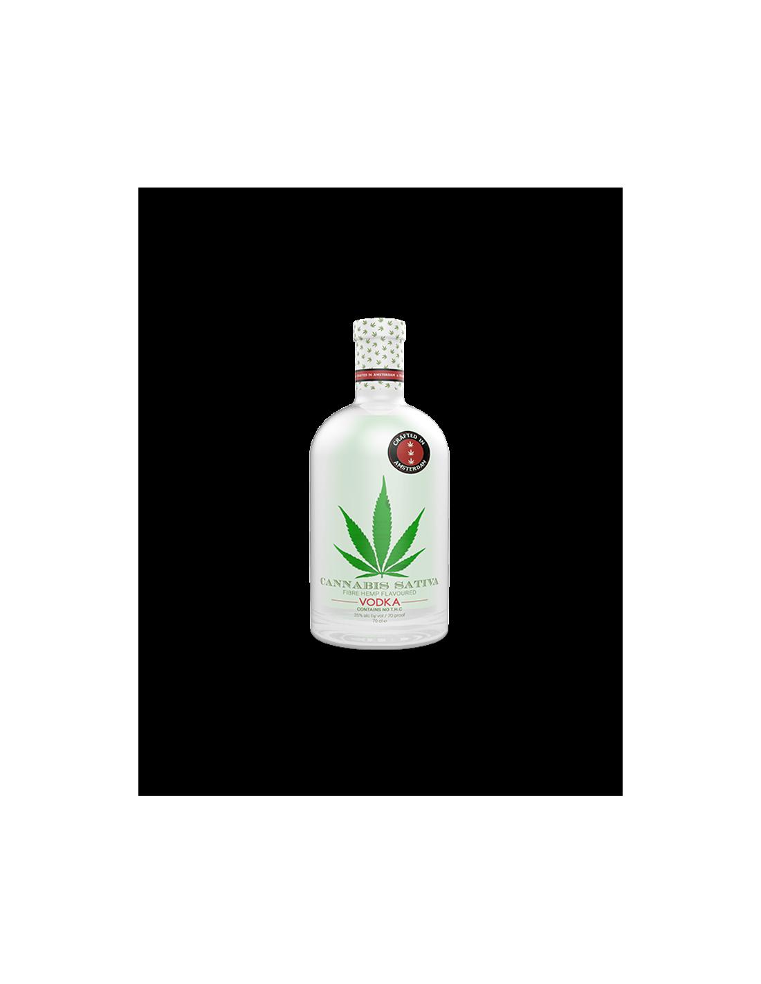 Vodca Cannabis Sativa 0.7L, 35% alc.