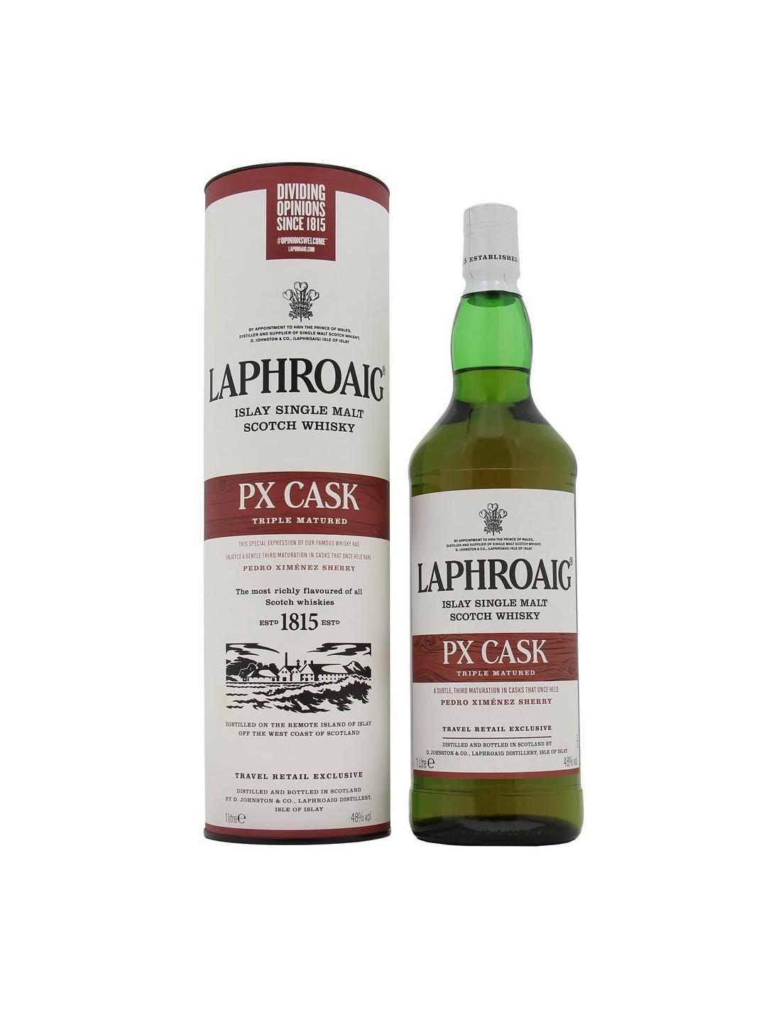 Whisky Laphroaig PX Cask, 48% alc., 1L, Scotia