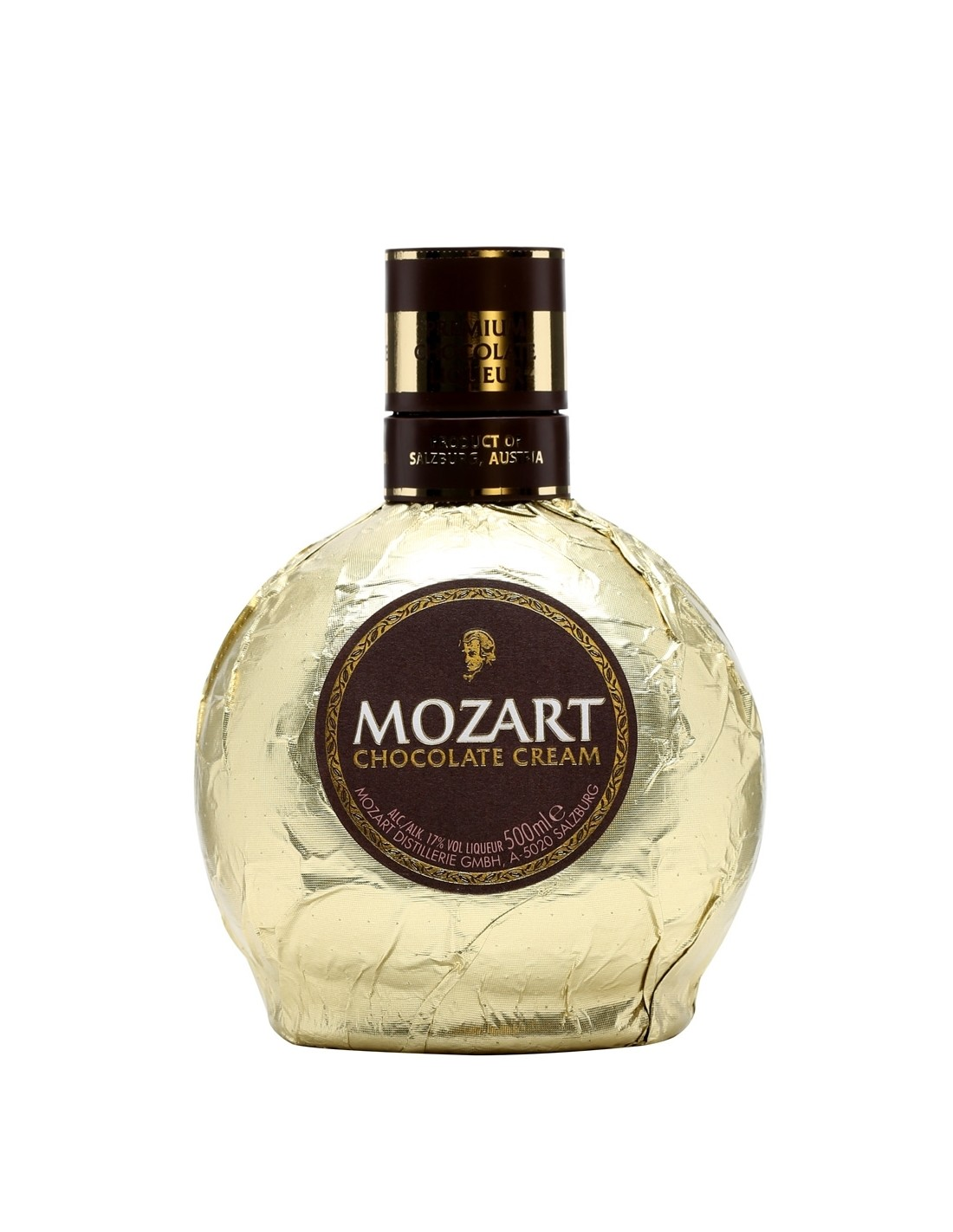 Lichior Mozart Chocolate Cream Gold 0.5L