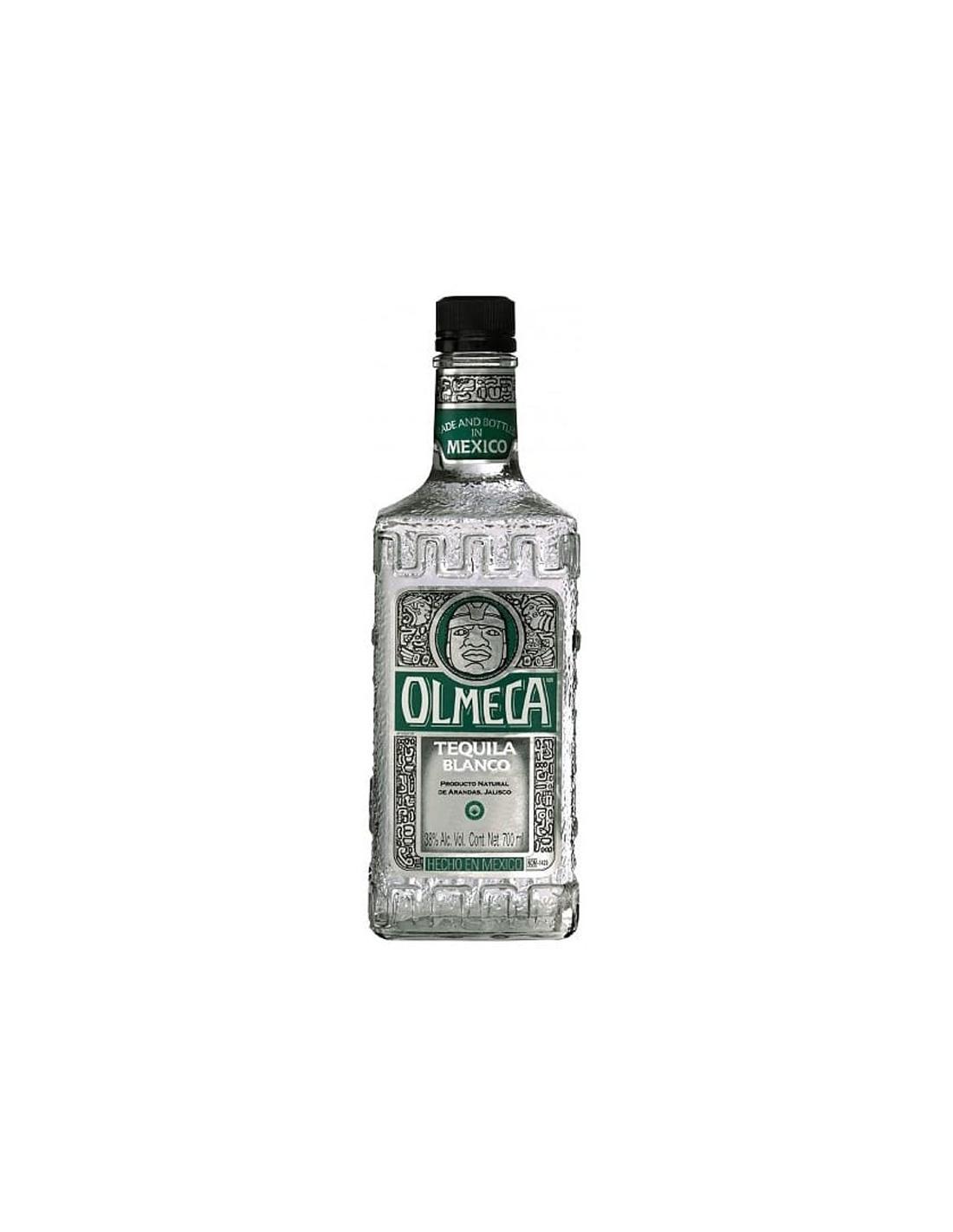 Tequila alba Olmeca Blanco 0.7L, 38% alc., Mexic