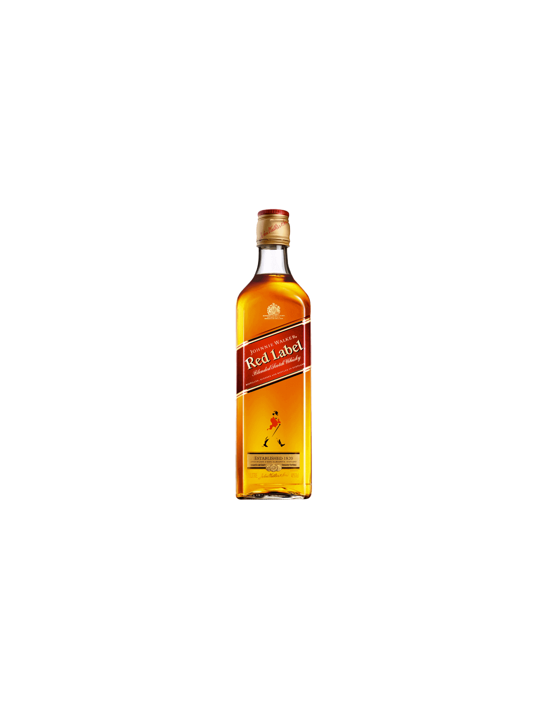 Blended Whisky Johnnie Walker Red Label, 40% alc., 1L, Scotia