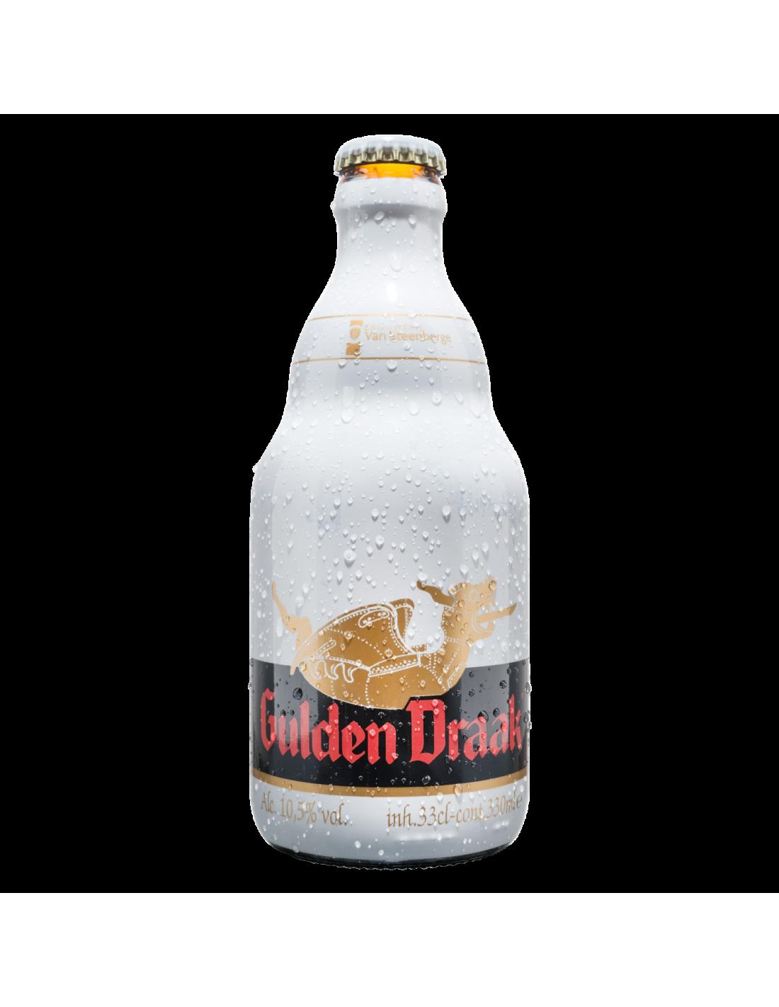 Bere neagra, filtrata Gulden Draak, 10.5% alc., 0.33L, Belgia