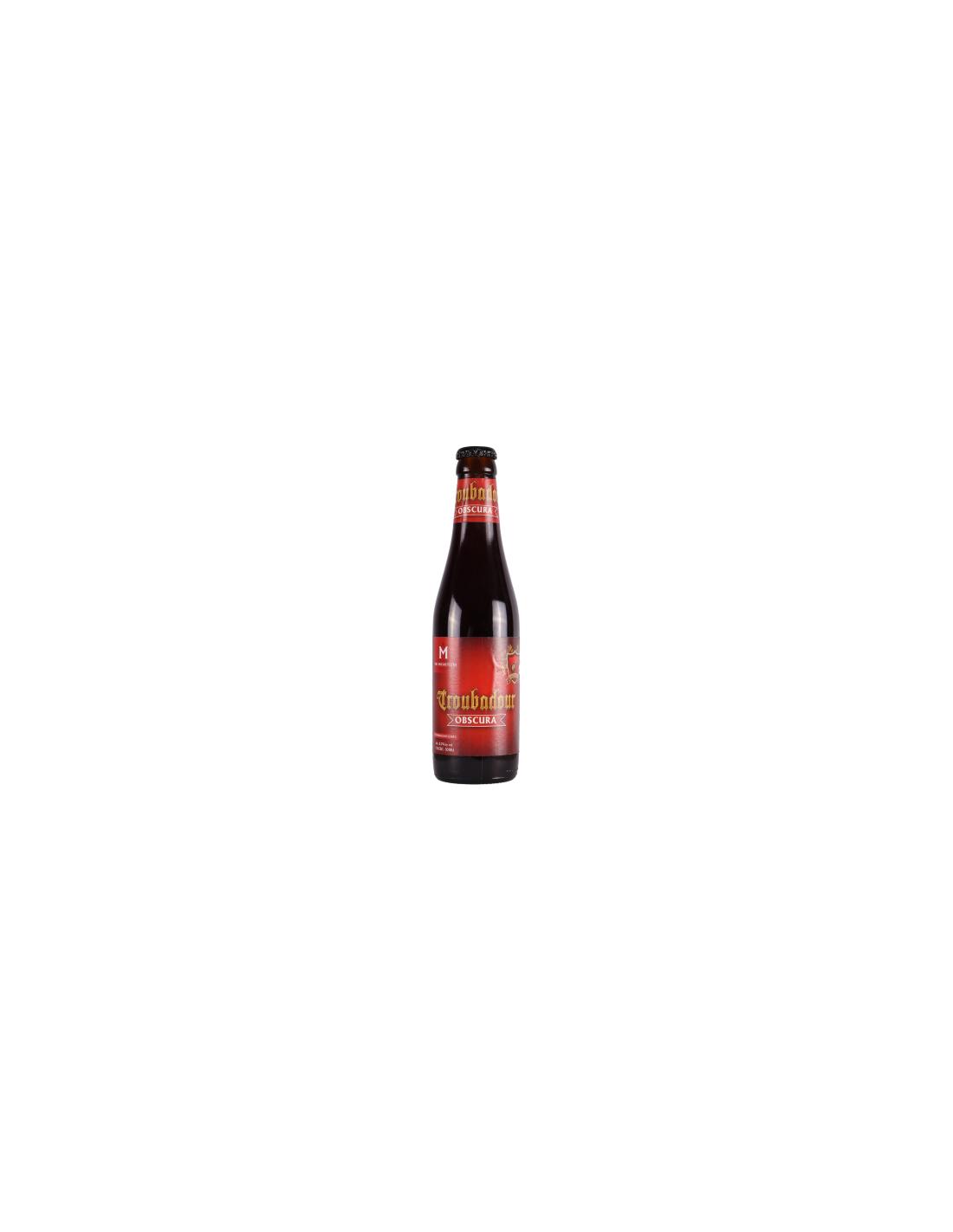 Bere bruna, Troubadour Obscura, 8.2% alc, 0.33L, Belgia