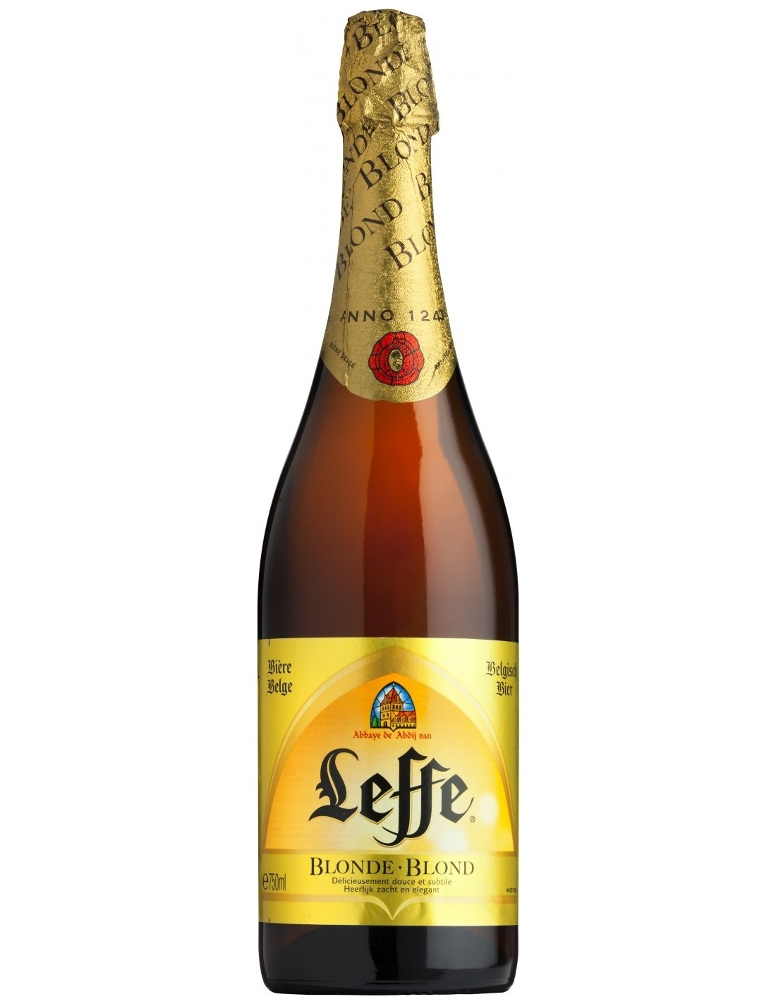 Bere Leffe Blond 0.75l