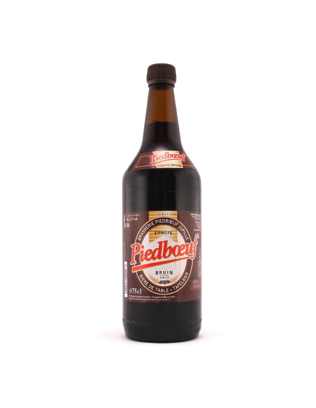 Bere bruna Piedboeuf Foncee, 1.1% alc., 0.75L, Belgia