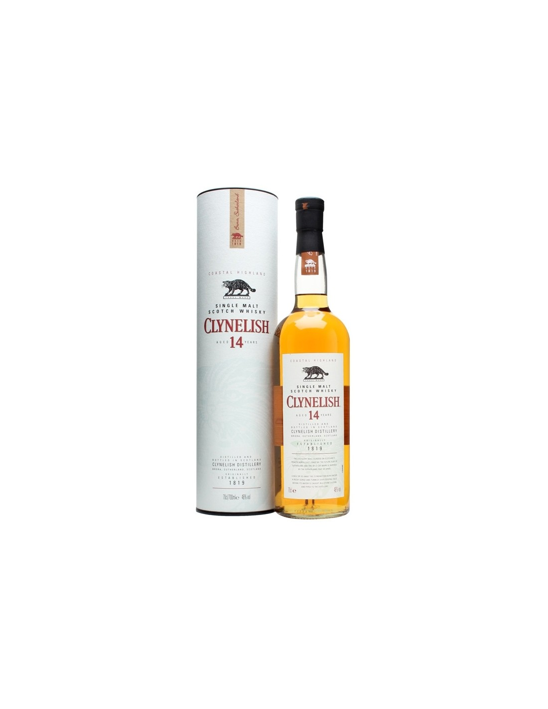 Whisky Clynelish, 46% alc., 0.7L, Scotia