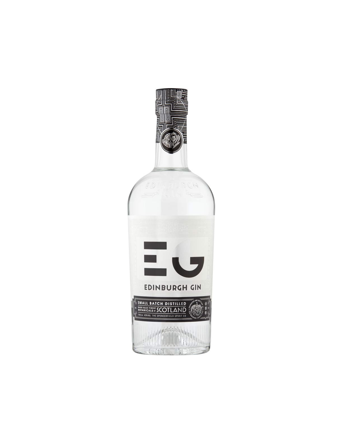 Gin Edinburgh 43% alc., 0.7L, Scotia
