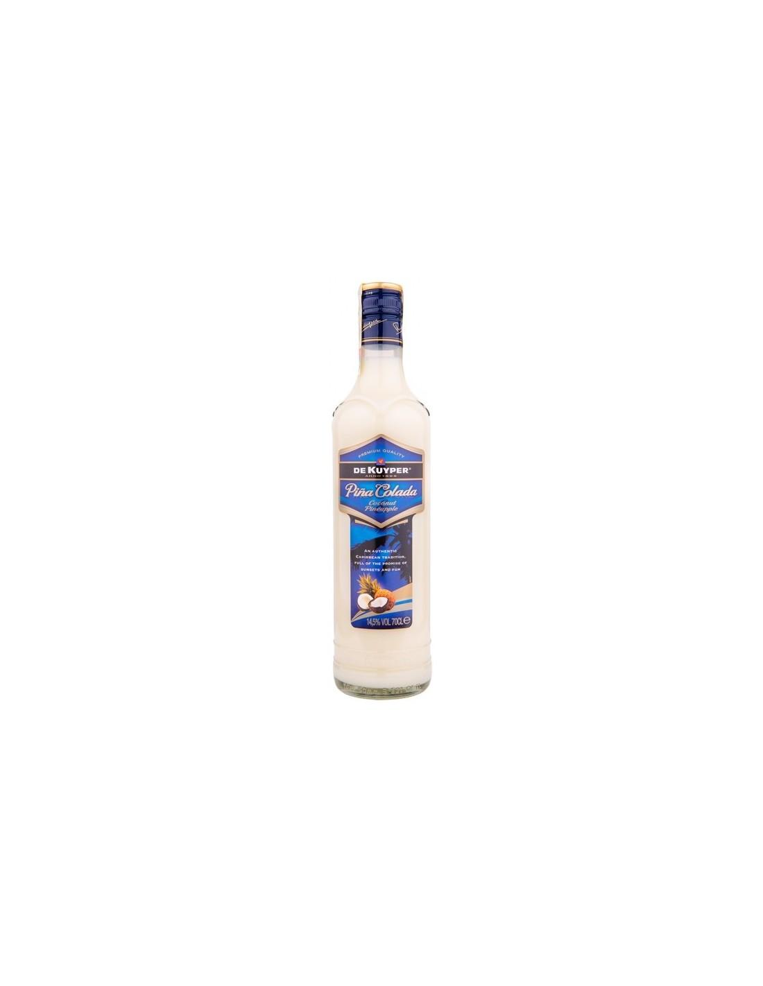 Lichior De Kuyper Pina Colada, 14.5% alc., 0.7L, Olanda