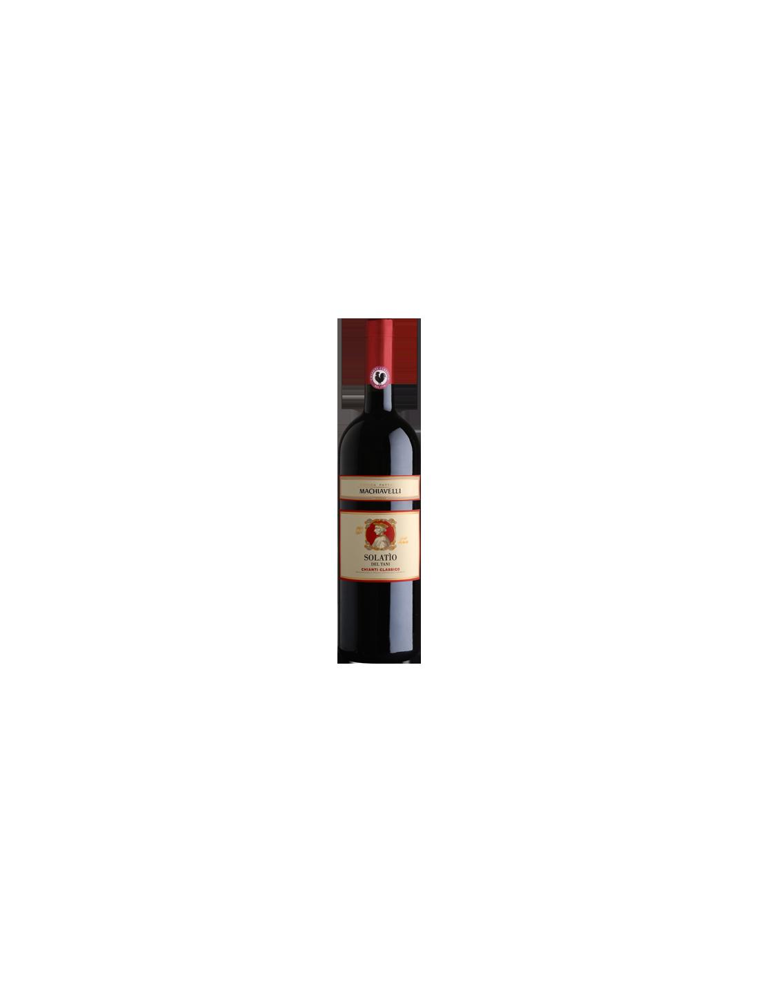 Vin rosu, Sangiovese, Machiavelli Solatìo, 0.75L, 14% alc., Italia
