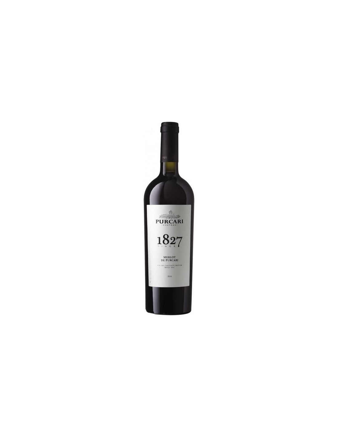 Vin rosu sec, Merlot, Purcari Stefan Voda, 0.75L, 13% alc., Republica Moldova