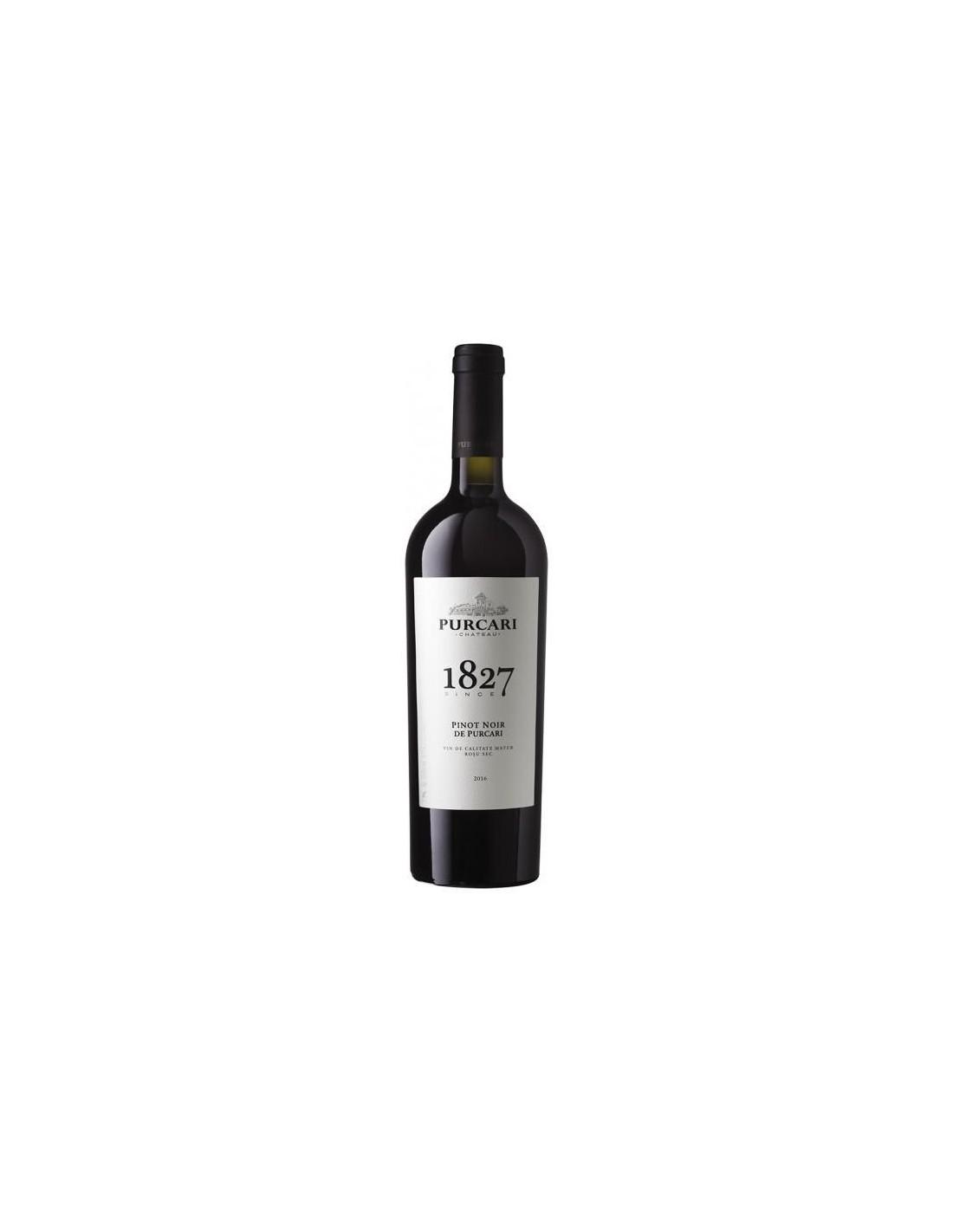Vin rosu sec, Pinot Noir, Purcari Stefan Voda, 0.75L, 13% alc., Republica Moldova
