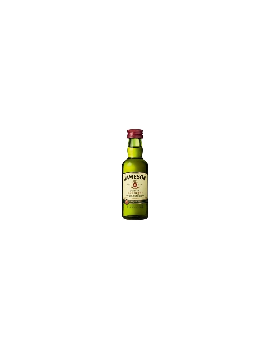 Whisky Jameson, 40% alc., 0.05L, Irlanda