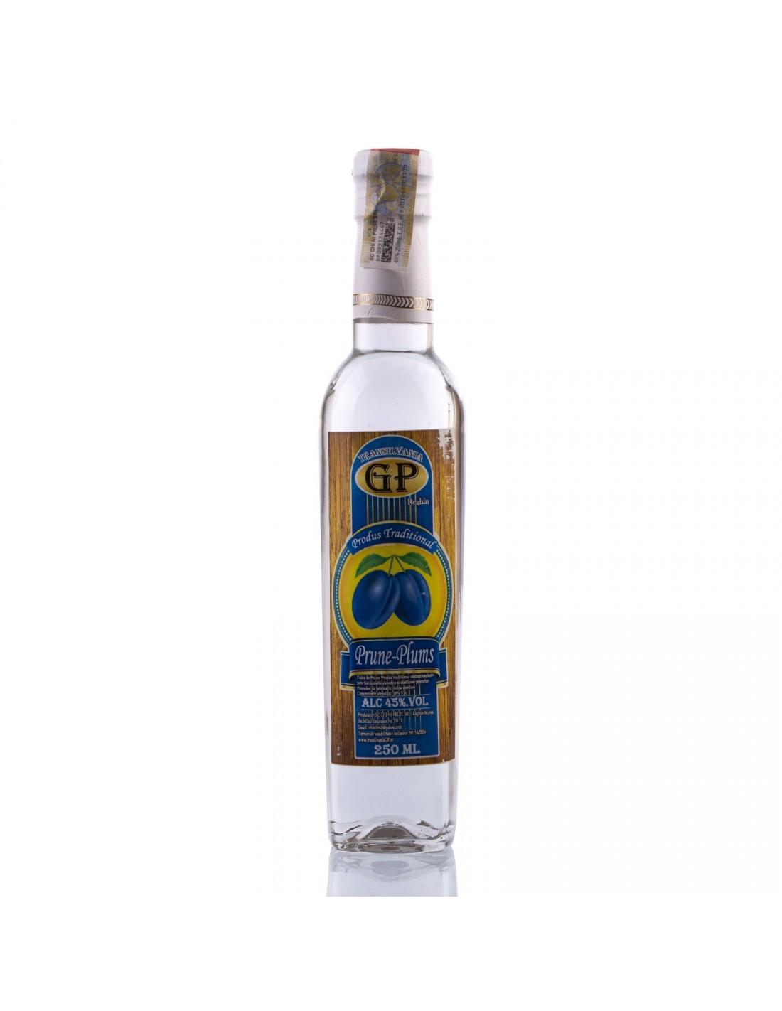 Tuica de prune, 45% alc., 0.5L, Romania