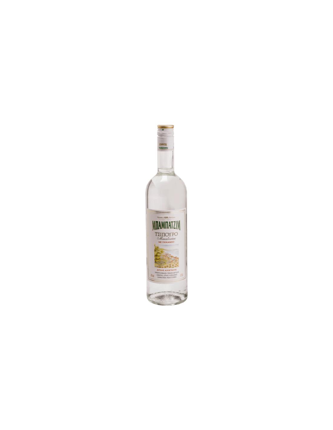 Bautura traditionala digestiva Babatzim Anise, 42% alc., 0.7L