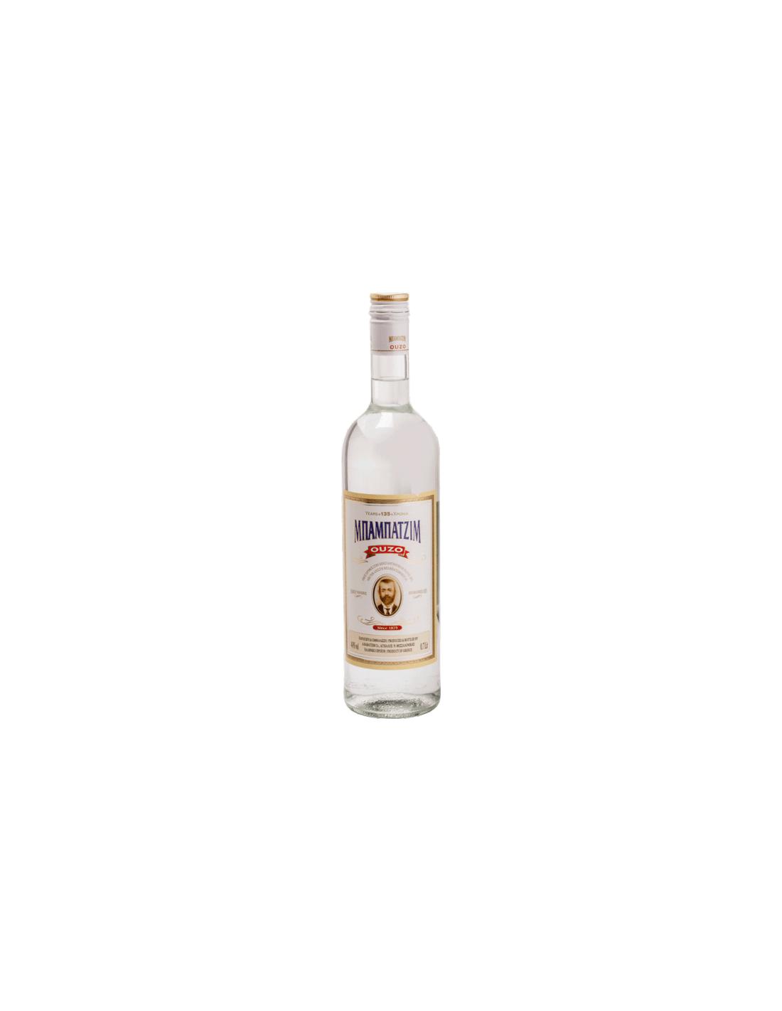 Bautura traditionala Ouzo Babatzim, 40% alc., 0.7L, Grecia
