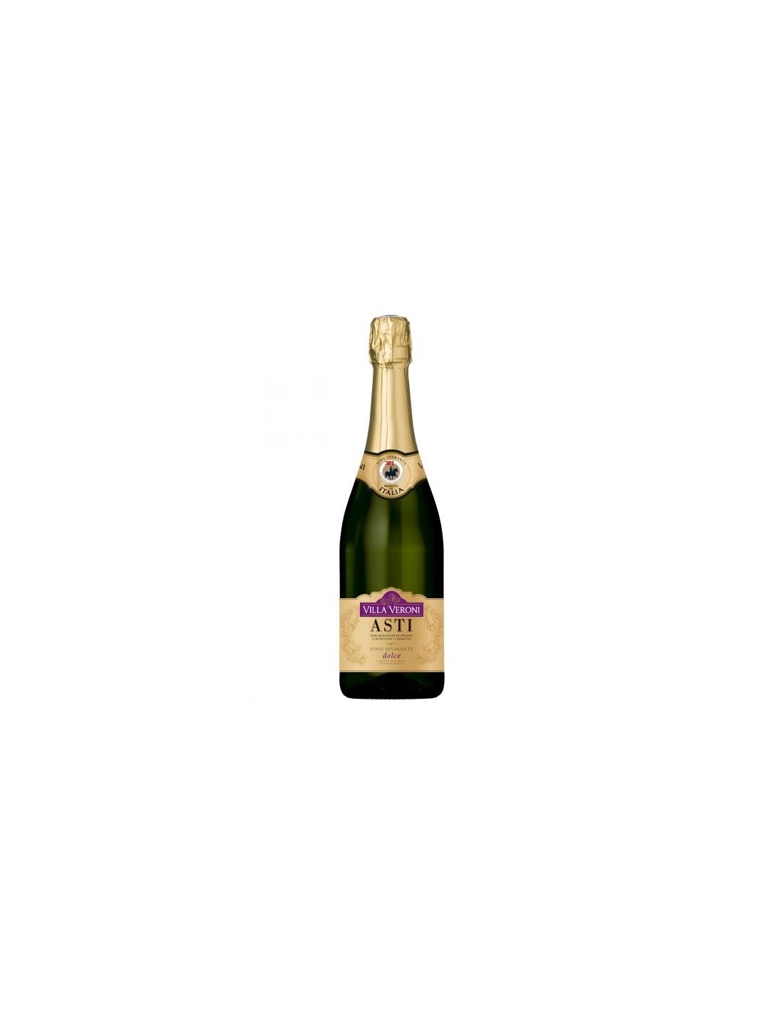 Vin spumant dulce Moscato, Villa Veroni Asti, 0.75L,, Italia
