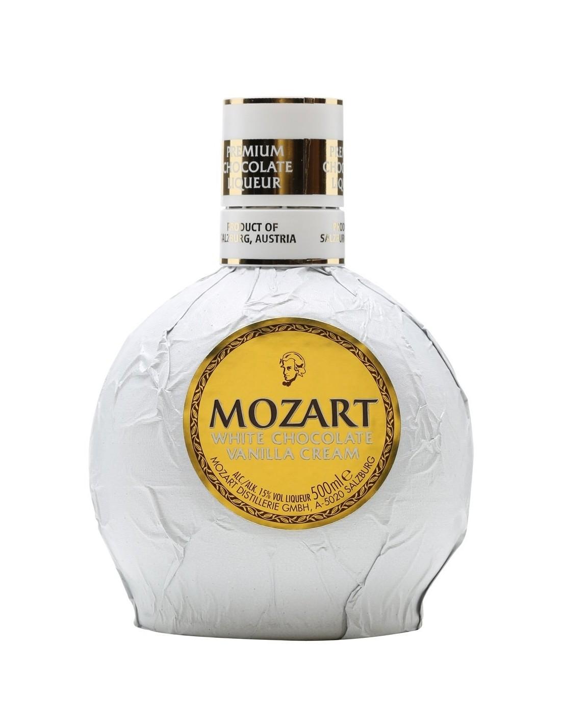 Lichior Mozart Cream White 0.5l