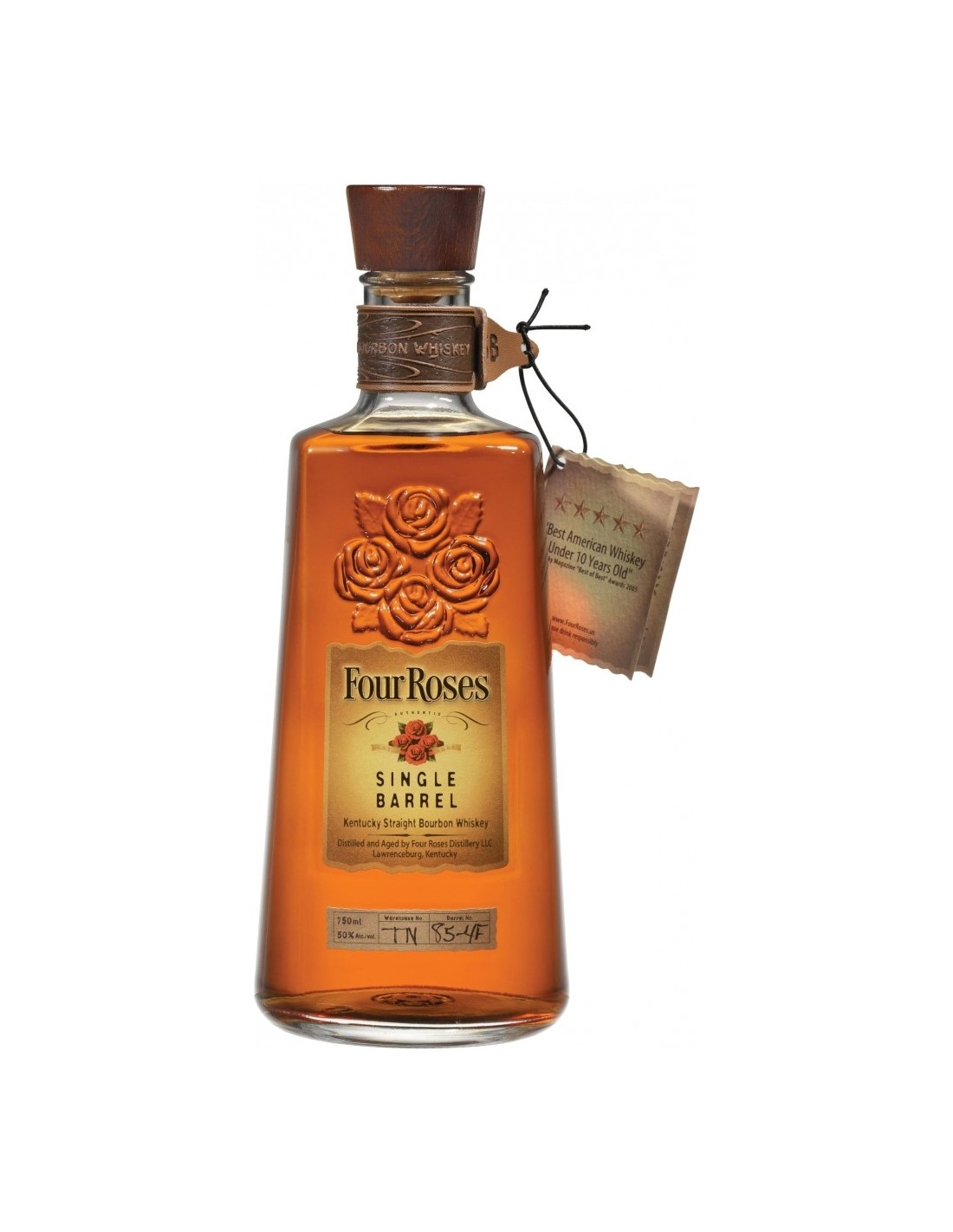 Whisky Bourbon Four Roses, 50% alc., 0.7L, America