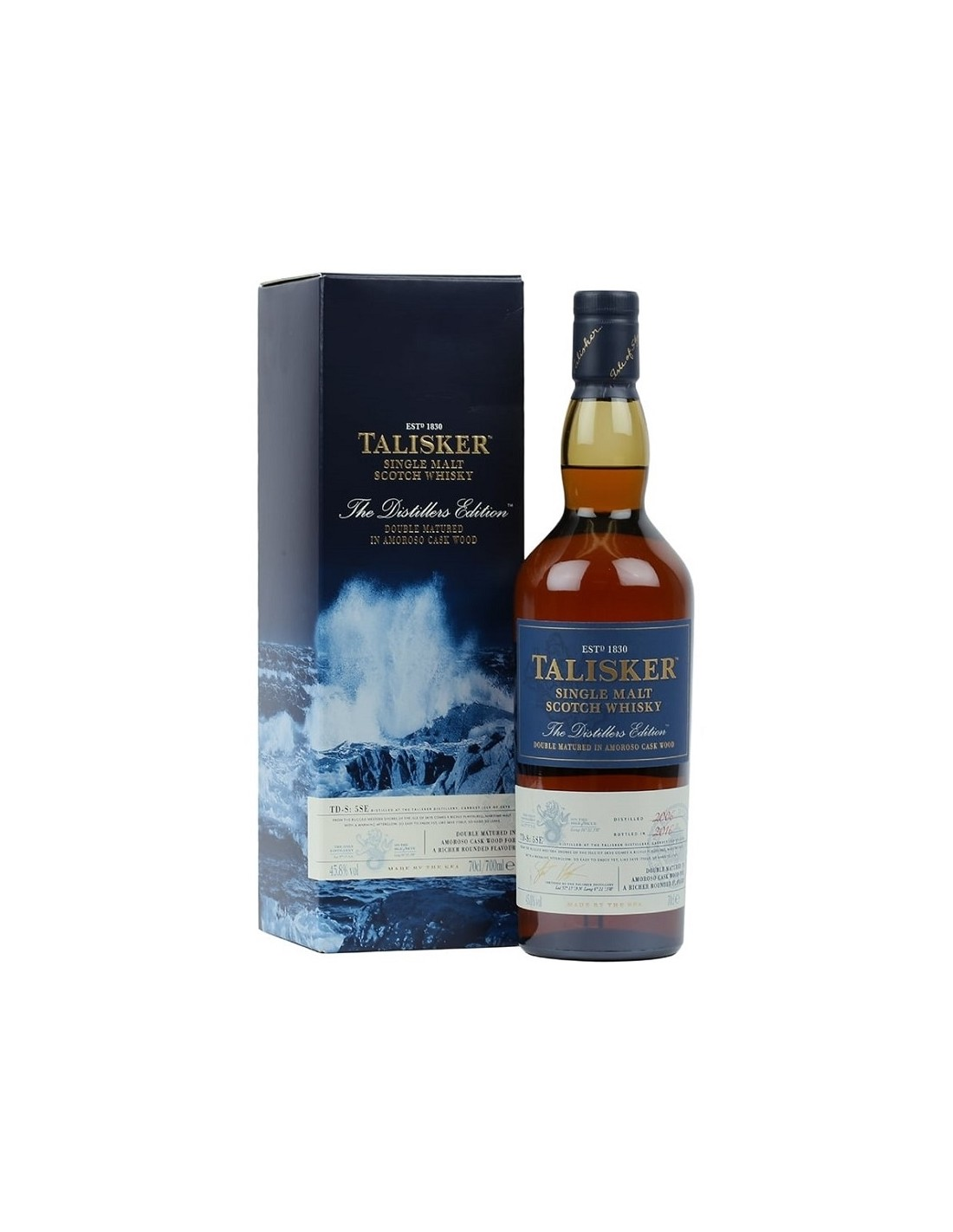 Whisky Talisker Distiller's Edition, 45.8% alc., 0.7L, Scotia