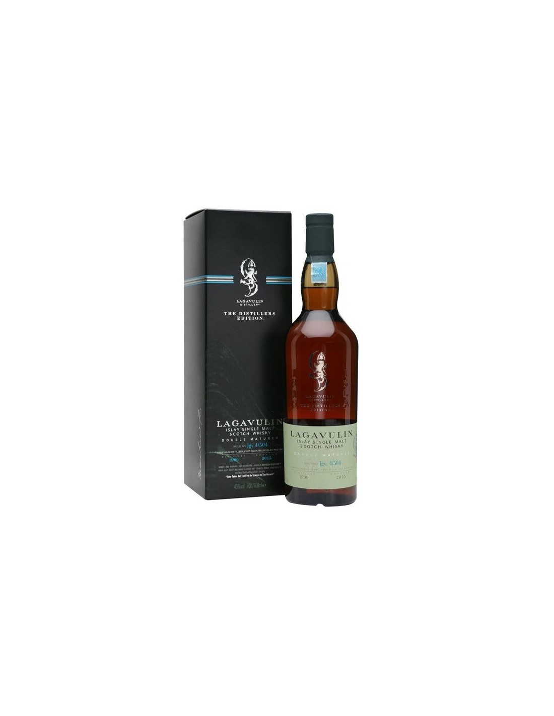Whisky Lagavulin Distiller's Edition, 43% alc., 0.7L, Scotia