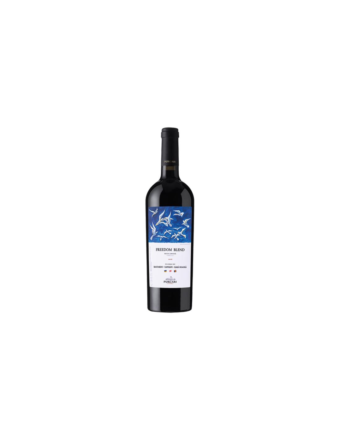 Vin rosu sec, Cupaj, Purcari Stefan Voda, 0.75L, 12.5% alc., Republica Moldova