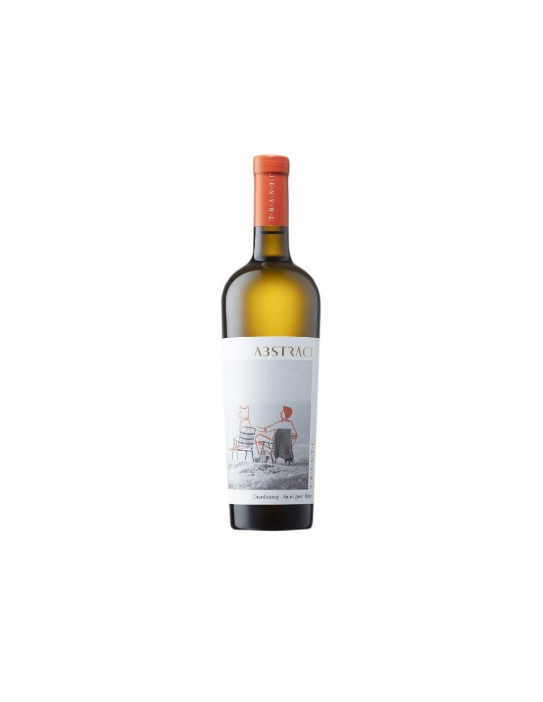 Vin alb sec, Chardonnay - Sauvignon Blanc, Abstract Murfatlar, 0.75L, 14.5% alc., Romania