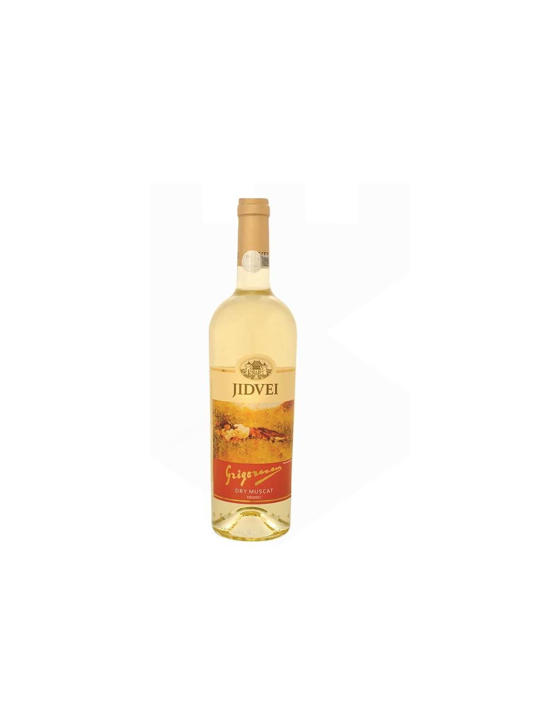 Vin alb demisec, Jidvei Fata In Iarba Tarnave, 0.75L, 12% alc., Romania