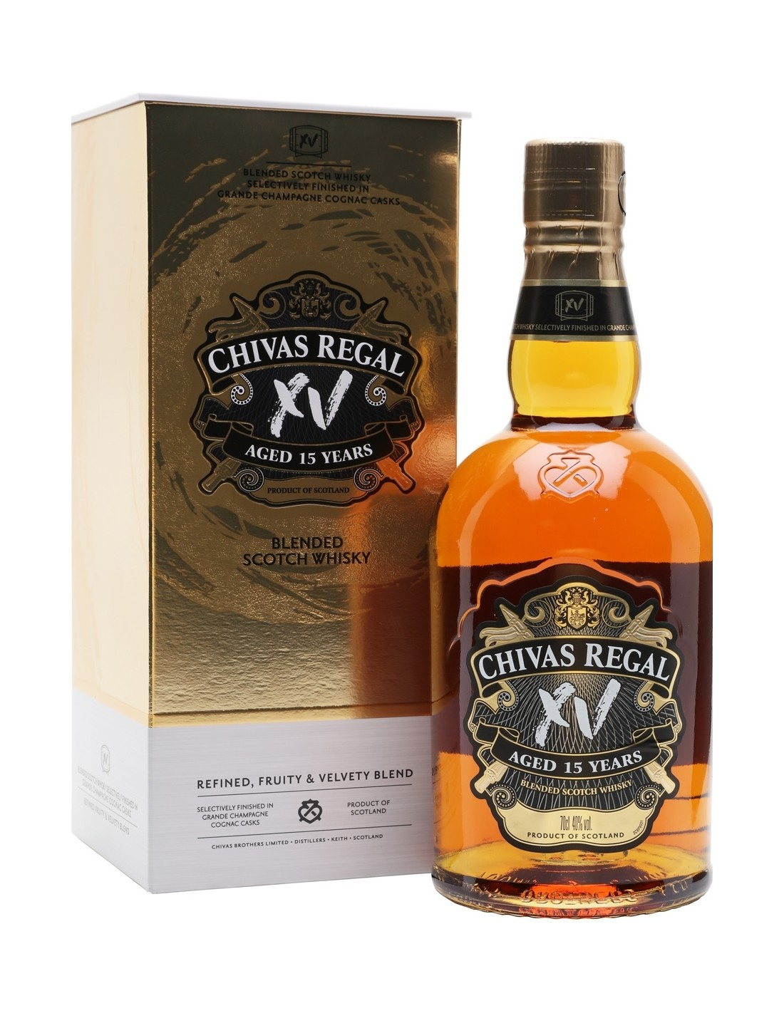 Whisky Chivas Regal, 15 ani, 40% alc., 0.7L, Scotia