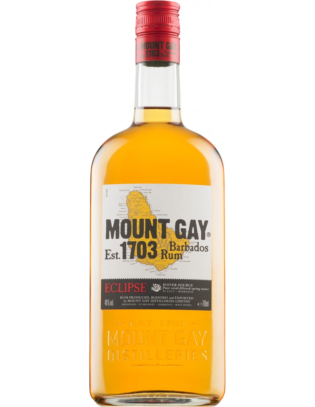 Rom Mount Gay Eclipse, 40% alc., 0.7L
