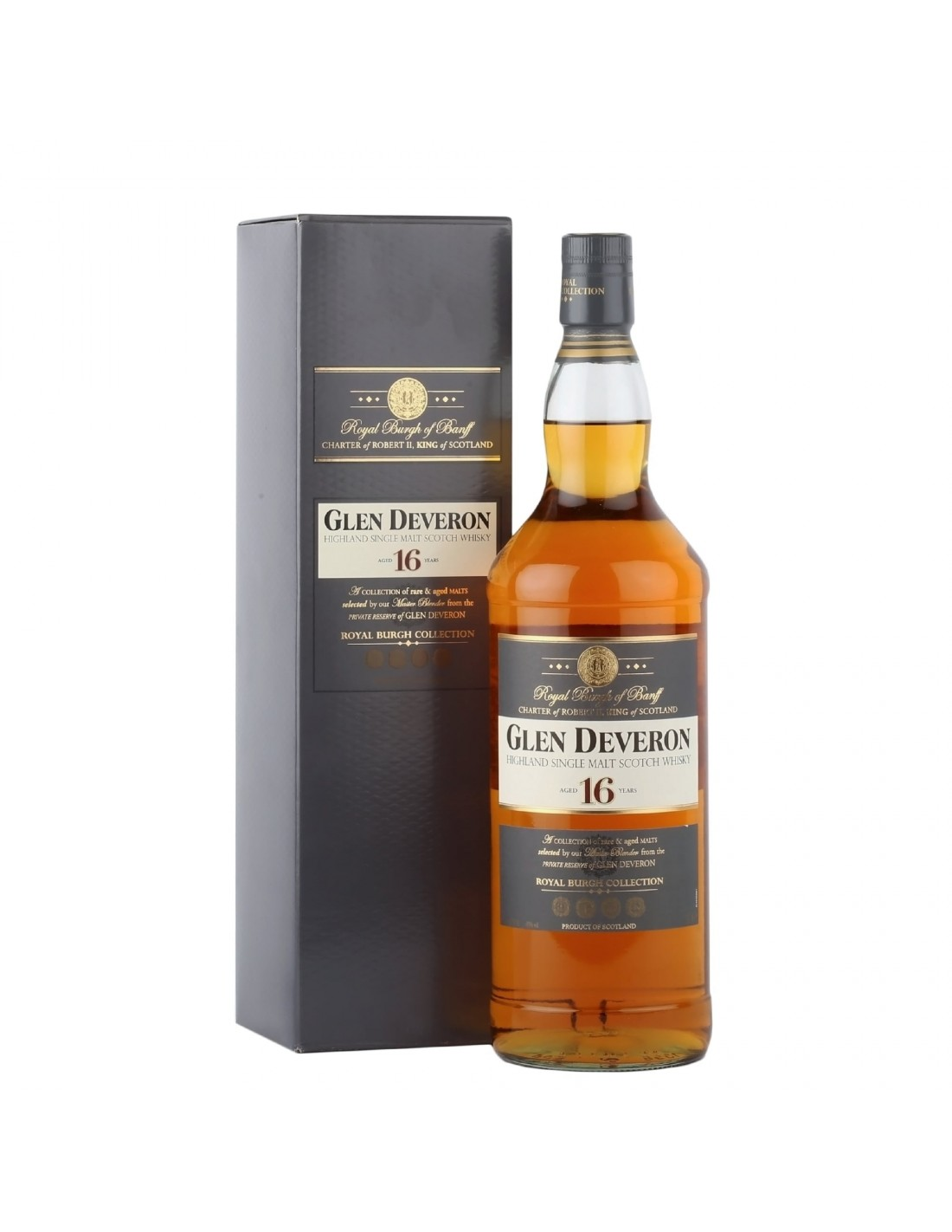Whisky Glen Deveron, 16 ani, 40% alc., 1L, Scotia
