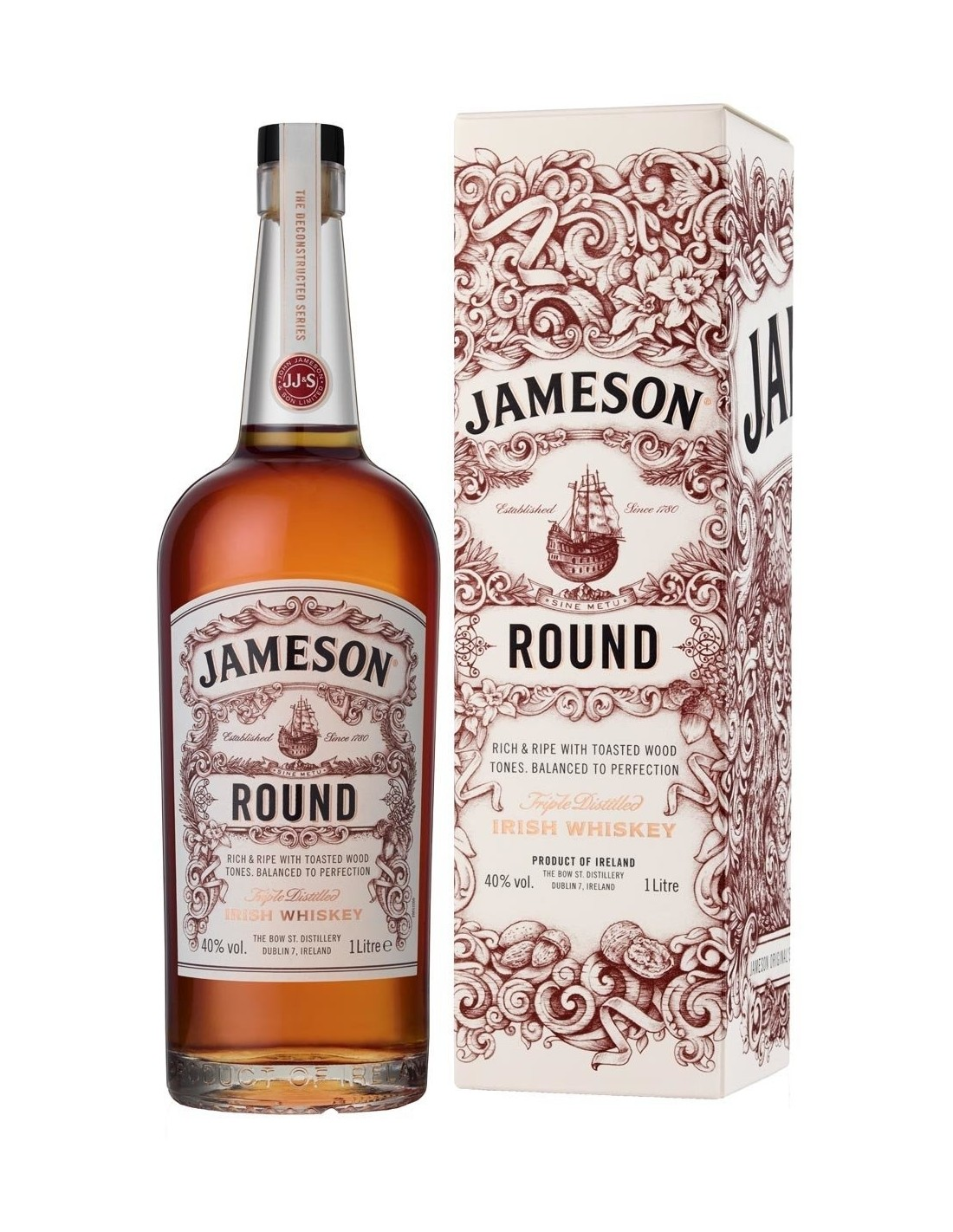Whisky Jameson Deconstructed Round, 40% alc., 1L, Irlanda