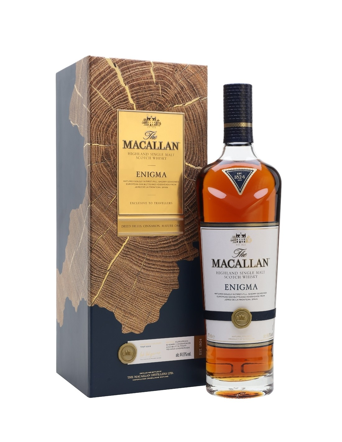 Whisky Single Malt Macallan Enigma, 44.9% alc., 0.7L, Scotia