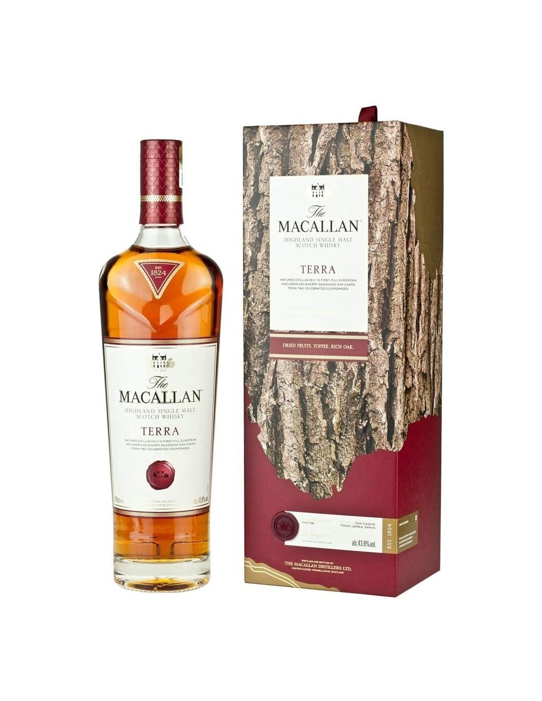 Whisky Macallan Terra, 43.8% alc., 0.7L, Scotia