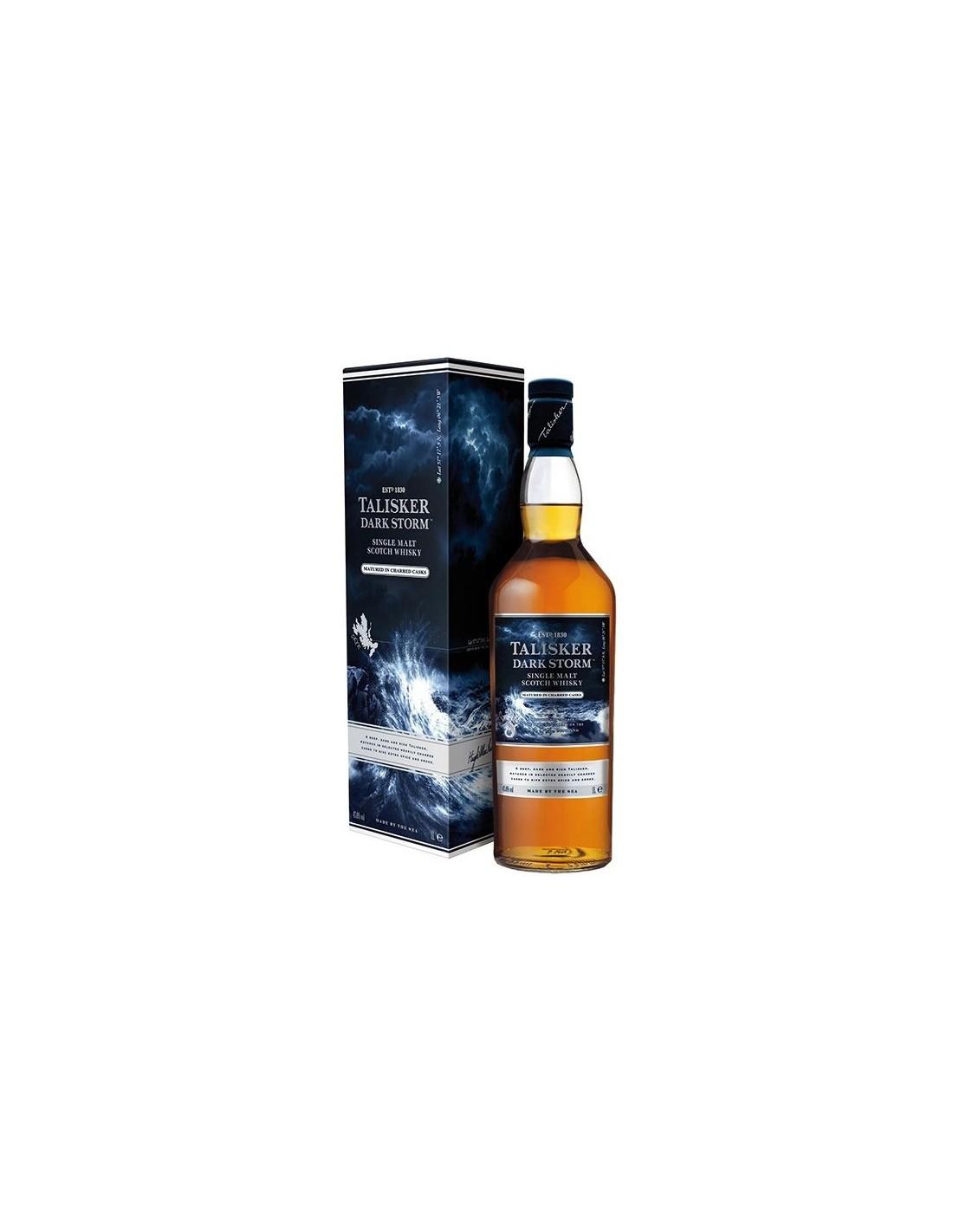 Whisky Talisker Dark Storm, 45.8% alc., 1L, Scotia