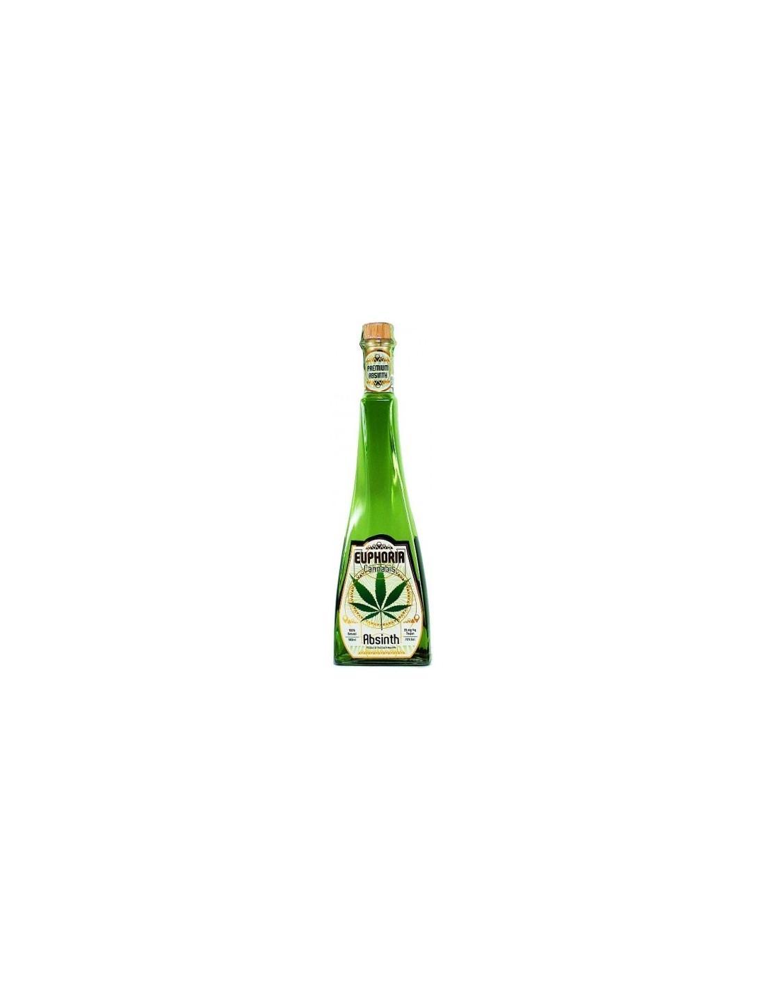 Absint Euphoria Cannabis, 70% alc., 0.7L, Cehia