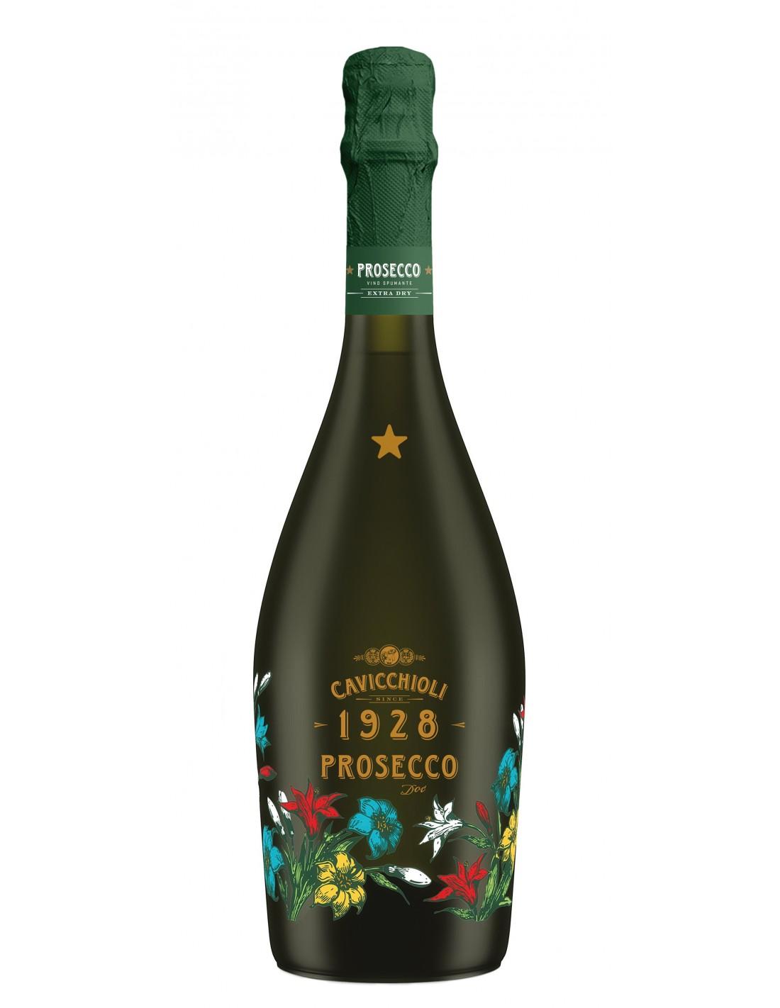 Vin prosecco Cavicchioli Mondena DOC, 11% alc., 0.75L, Italia