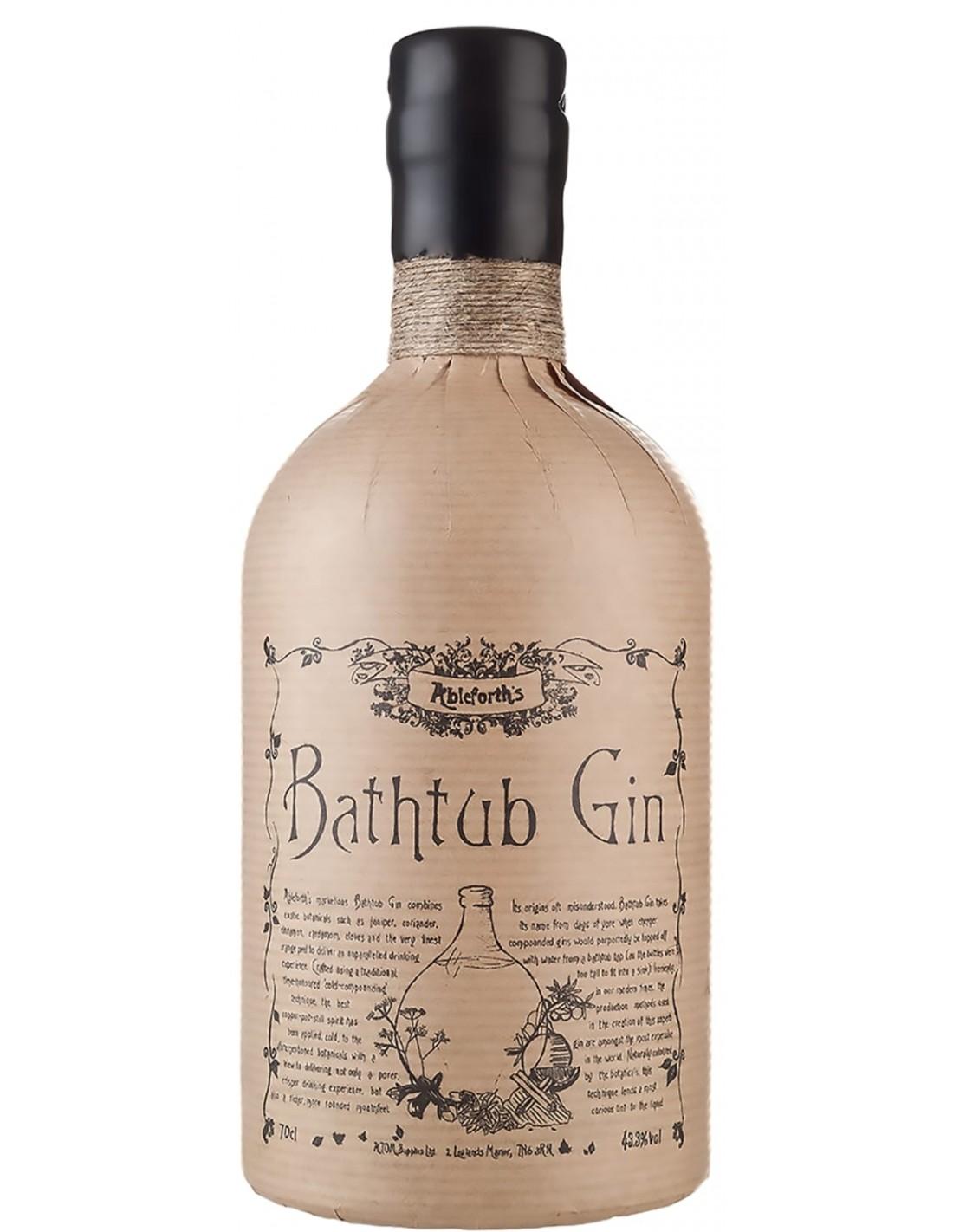 Gin Bathtub 43.3% alc., 0.7L