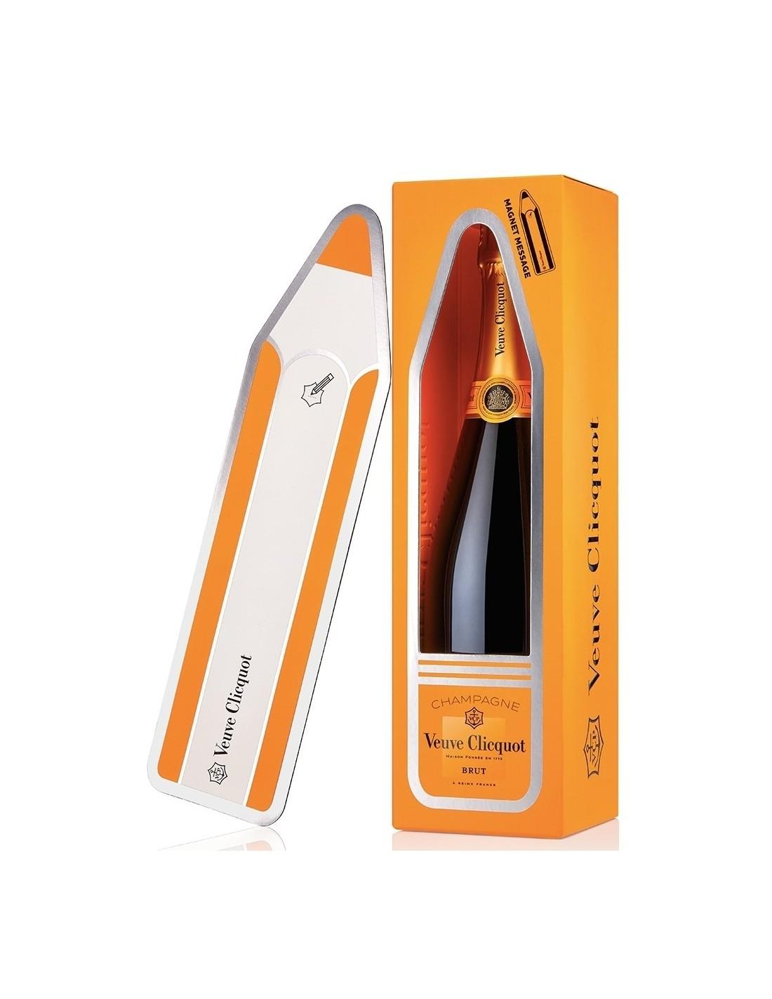 Sampanie, Veuve Clicquot Magnetic Message Champagne, 0.75L, 12% alc., Franta