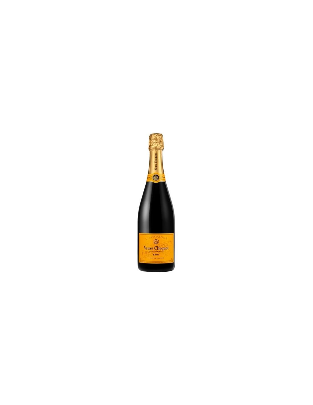 Sampanie, Veuve Clicquot Arrow Champagne, 0.75L, 12% alc., Franta