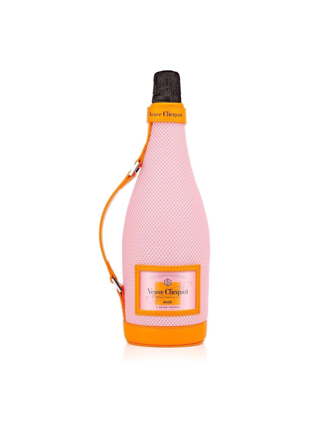 Sampanie roze, Veuve Clicquot Ice Jacket Champagne, 0.75L, 12% alc., Franta
