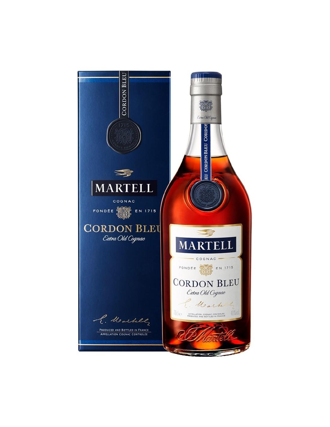 Coniac Martel Cordon Bleu 40% alc., 0.7L, Franta