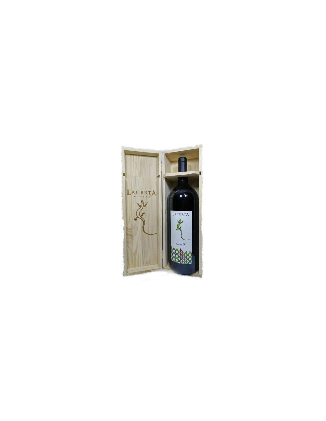Vin rosu, Cupaj, Lacerta Cuvee IX Magnum Dealu Mare, 2014, 0.75L, Romania