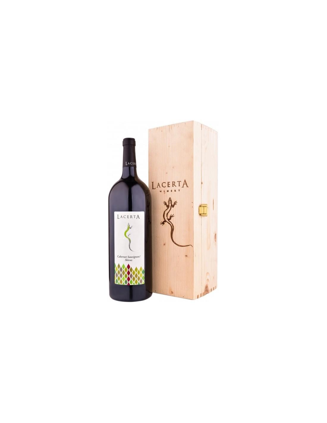 Vin rosu, Cabernet Sauvignon - Shiraz, Lacerta Magnum Dealu Mare, 0.75L, Romania