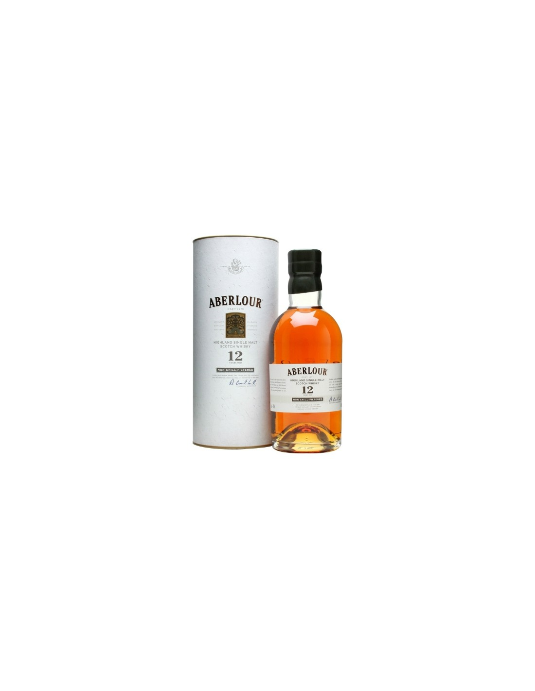 Whisky Aberlour Non-Chill-Filtered, 12 ani, 40% alc., 0.7L, Scotia
