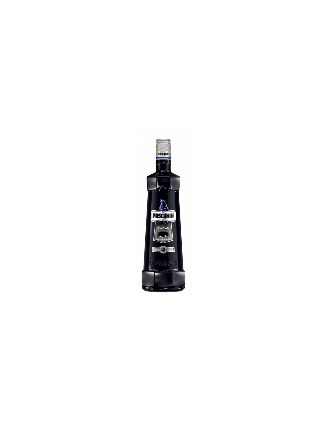 Vodca Puschkin Black Berries 0.7L, 37.5% alc., Germania