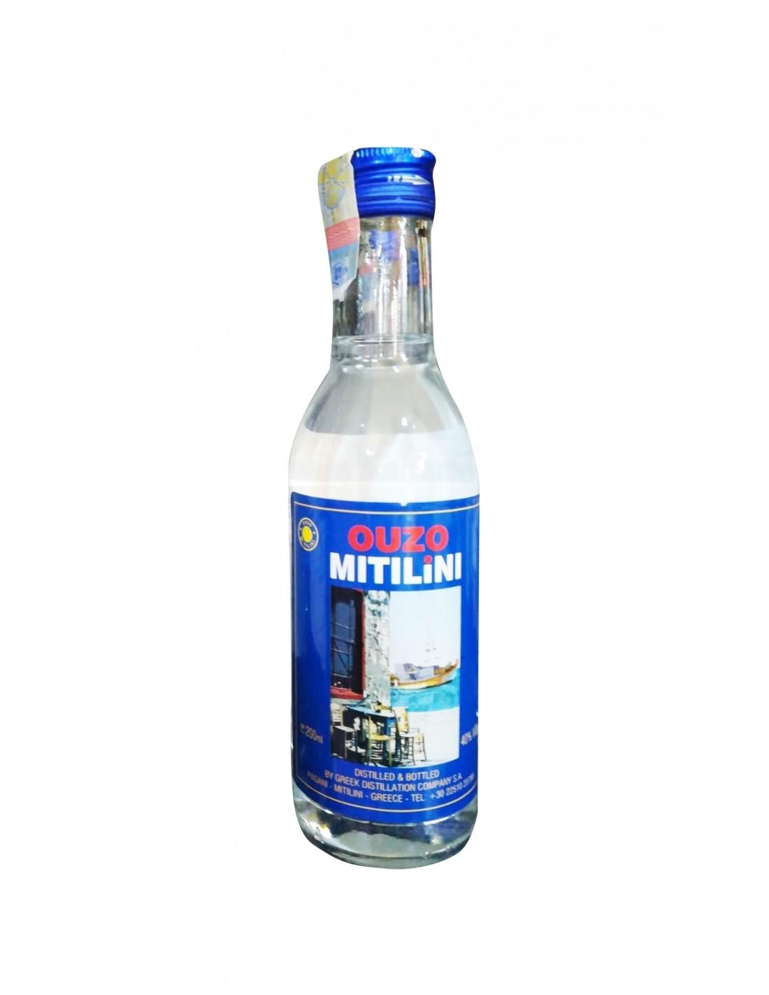 Bautura traditionala Ouzo Mitilini, 40% alc., 0.2L, Grecia