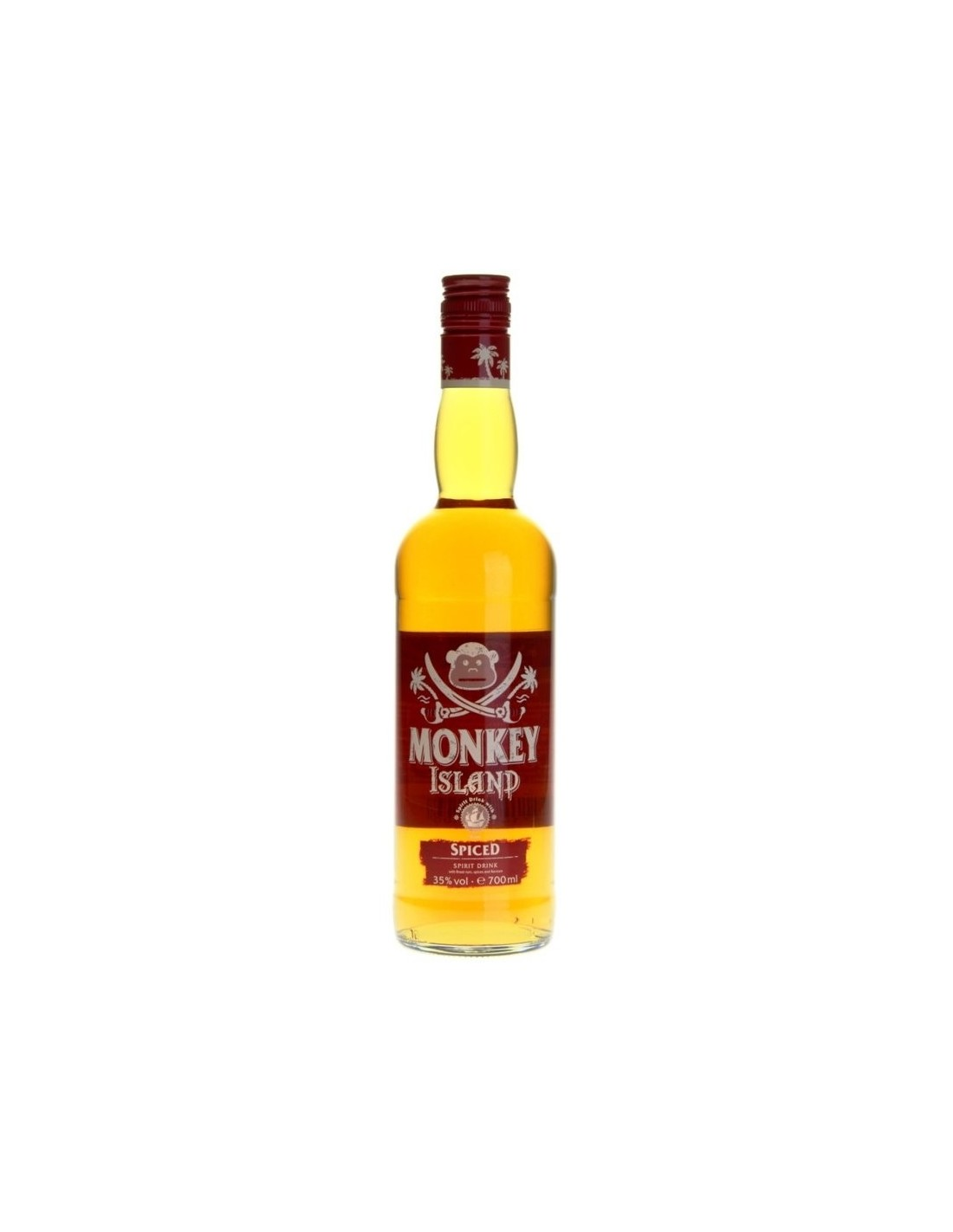 Rom Monkey Island Spiced Gold, 0.7L