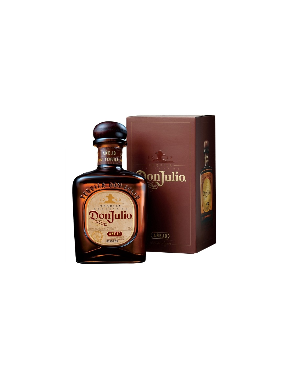 Tequila Don Julio Anejo 0.7L, 35% alc., Mexic
