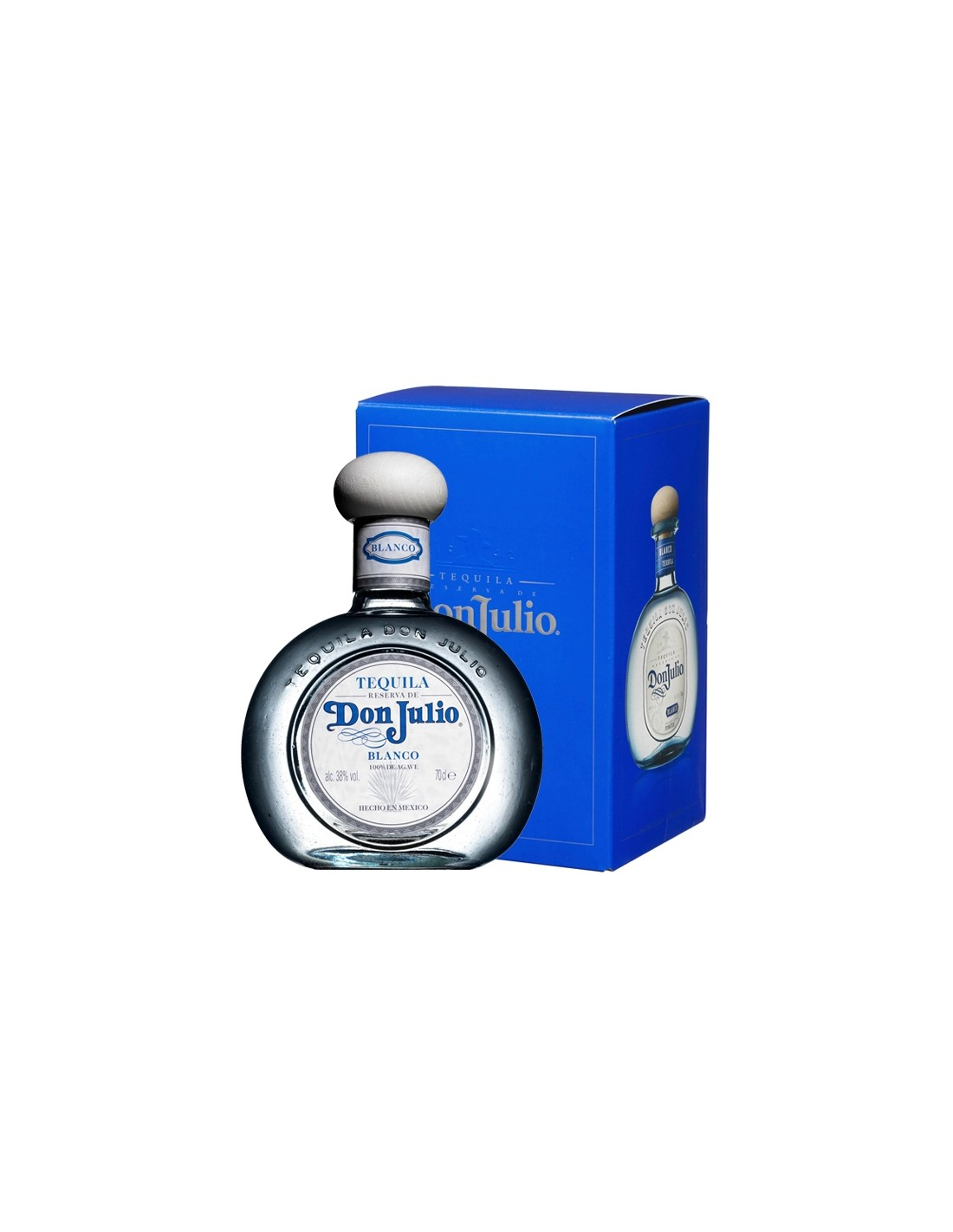 Tequila Don alba Julio Blanco 0.7L, 38% alc., Mexic